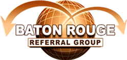 baton rouge referral group Evelyn Flynn Trade show Wiz