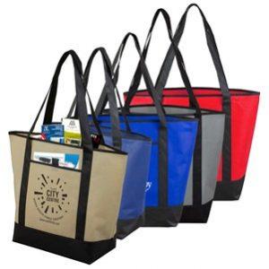 trade show swag bag